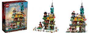 LEGO 71741 Die Gärten von NINJAGO City | 5685 Teile | LEGO NINJAGO kaufen