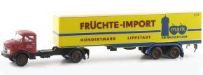 LEMKE LC3463 MB L322 Sattelzug Früchte Import   LKW-Modell 1:160 kaufen