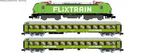 HOBBYTRAIN LC95005 3-tlg. Zugset Nr. 5 BR 193 Vectron + 2x Bmmz FLIXTRAIN | analog | Spur N kaufen