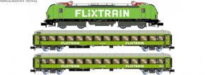 HOBBYTRAIN LC95005S 3-tlg. Zugset Nr. 5 BR 193 Vectron + 2x Bmmz FLIXTRAIN | DCC Sound | Spur N kaufen