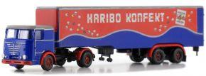 LEMKE LC3624 Büssing LU11-16 Sattelzug HARIBO Konfekt | Lkw-Modell 1:160 kaufen