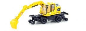 LEMKE LC4250 MINIS Liebherr 2-Wege Bagger A922 RAIL | Baufahrzeug 1:160 kaufen