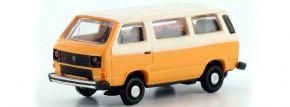 ausverkauft | LEMKE LC4304 VW T3 Bus orange weiß | Automodell 1:160 kaufen