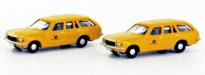 LEMKE LC4508 Opel Rekord D Karavan Post 2er Set | Modellautos 1:160 kaufen