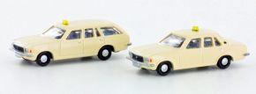 LEMKE LC4509 Opel Record D Taxi 2er Set | Modellautos 1:160 kaufen