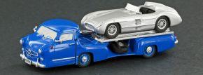 LEMKE 87310 MB Renntransporter Das blaue Wunder 1955   Automodell 1:87 kaufen