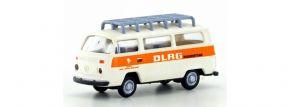 LEMKEcollection LC3895 VW Bus T2 mit Dachträger DLRG   1:160 kaufen