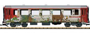 LGB 30679 Schnellzugwagen 2.Kl. Bärenland RhB | Spur G