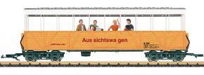 LGB 33353 Offener Aussichtswagen mit Sound | RhB | Spur G kaufen