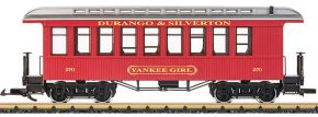 LGB 36808 Oldtimer-Personenwagen Yankee Girl D&S RR | Spur G kaufen