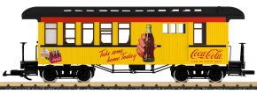 LGB 36818 Halbgepäckwagen Coca Cola | Spur G kaufen