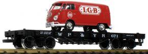 LGB 40597 Flachwagen mit VW T1 WP&Y RR | Spur G kaufen