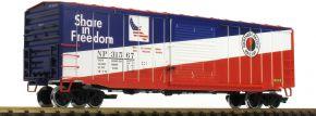 LGB 42938 Gedeckter Güterwagen NP | Spur G kaufen