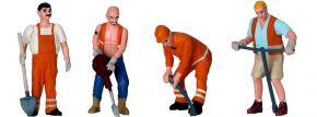 LGB 53003 Figuren-Set Arbeiter Baustelle | 4 Figuren | Spur G kaufen