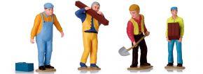 LGB 53005 Figuren-Set Arbeiter | 4 Stück | Spur G kaufen