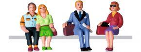 LGB 53006 Figuren-Set Reisende sitzend | 4 Stück | Spur G kaufen