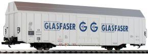 LILIPUT 235801 Großräumiger Güterwagen Hbbks GLASFASER DB | DC | Spur H0 kaufen