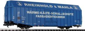 LILIPUT 235813 Großräumiger Güterwagen Hbks RHEINH. & MAHLA DB | DC | Spur H0 kaufen
