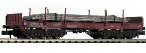 LILIPUT 265794 Coiltransportwagen Sahmms, braun | mit Stahlplatten | DB | Spur N kaufen