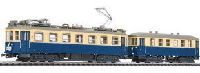 ausverkauft   LILIPUT L133895 Straßenbahn mit Beiwagen WLB   DC   Spur H0 kaufen