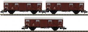 LILIPUT L260137 3-tlg. Set Ged. Güterwagen Glmhs 50 DB | Spur N kaufen