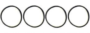 LILIPUT 939383 Haftreifen, 4 Stück | 8,8mm Durchmesser | Spur H0 kaufen