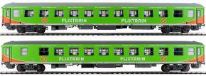 L.S.Models 46008 2-tlg. Set Liegewagen HH - Köln FLIXTRAIN | DC | Spur H0 kaufen