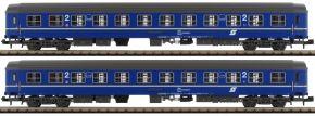 L.S.Models 77055 2-tlg. Set Liegewagen Bcmz 59-70 blau/grau   ÖBB   Spur N kaufen