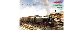 märklin 349613 Prospekt Sommer-Neuheiten märklin MINITRIX TRIX 2020 kaufen