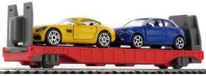 märklin 44110 my world Autotransportwagen mit 2 PKWs | Spur H0 kaufen