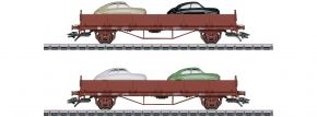 märklin 45084 Autotransportwagen-Set Saab 9 | 2-teilig | Spur H0 kaufen
