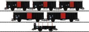 märklin 46050 Güterwagen-Set 6-tlg. zum Köfferli SBB | Messe 2020 | Spur H0 kaufen