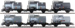 märklin 46436 Kesselwagen-Set 6-tlg. gealtert VTG | Spur H0 kaufen