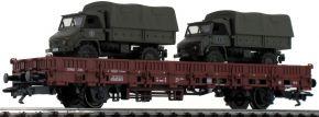 märklin 46936 Rungenwagen Kbs 443 mit Unimog DB | Spur H0 kaufen