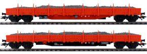 märklin 47099 Niederbordwagen-Set Schottertransport Res RTS | Spur H0 kaufen