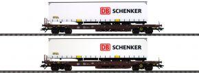 märklin 47110 Taschenwagen-Set DB Schenker Rail Cargo Austria | Spur H0 kaufen