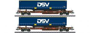 märklin 47111 Taschenwagen-Set 2-tlg. AAE/DSV | Spur H0 kaufen