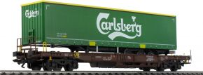 märklin 47112 Taschenwagen Sdgmns 33 Carlsberg AAE Cargo   Spur H0 kaufen