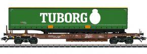 märklin 47113 Taschenwagen Sdgmns 33 Tuborg AAE Cargo | Spur H0 kaufen