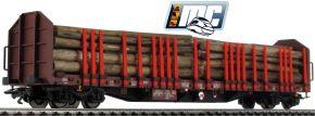 märklin 47116 Rungenwagen Roos 639 DB | SETG Holzzug Teil 1 | Spur H0