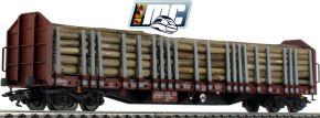 märklin 47127 Rungenwagen Roos 639 DB AG | SETG Holzzug Teil 2 | Spur H0 kaufen