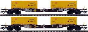 märklin 47131 Containertragwagen-Set Sgns Stuttgart 21 AAE | Spur H0