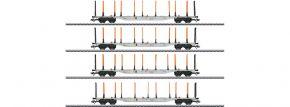 märklin 47138 KLV Tragwagen-Set 4-tlg. AAE Cargo | Spur H0 kaufen