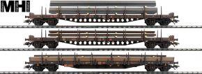 märklin 47145 Rungenwagen-Set 3-tlg. DB AG | MHI | Spur H0