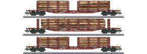 märklin 47146 Rungenwagen-Set 3-tlg. Holztransport DB | Spur H0 kaufen
