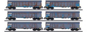märklin 47189 Hochbordwagen-Set Ealnos Holzhackschnitzel NS Cargo | Spur H0 kaufen