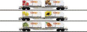 märklin 47461 Containerwagen-Set 3-tlg. Coop AAE Cargo | Spur H0 kaufen