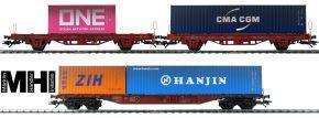 märklin 47580 Containerwagen-Set 3-tlg. gealtert DB | MHI | Spur H0 kaufen