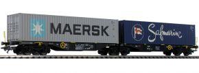 märklin 47806 Doppel-Tragwagen Sggrss 80 Raillogix | Spur H0 kaufen