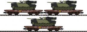 märklin 48795 Schwerlastwagen-Set Leo 1A5 Militärtransport | Spur H0 kaufen